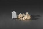 Konstsmide Dekolichterkette Acryl Sterne, mit Timer