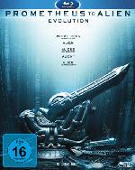 Prometheus to Alien - The Evolution Bluray Box [Blu-ray]
