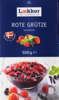 Lækker Rote Grütze Gartenfrüchte