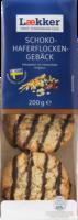 Lækker Gebäck Schoko-Hafergebäck