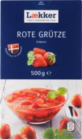 Lækker Rote Grütze Erdbeere