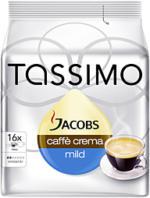 Jacobs Tassimo Caffè Crema mild 89,6g, 16 Stück