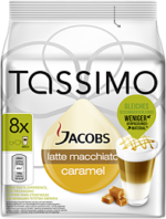 Jacobs Tassimo Latte Macchiato Caramel 268g