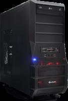 Gaming Midi Tower PC - AMD 6x 4.1GHz, 8GB RAM, Geforce GTX 750, 1TB HDD inkl. Windows 7