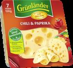 Grünländer Chili & Paprika Scheiben 150g
