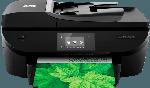 HP OfficeJet 5740 Tintenstrahl 4-in-1 Tinten-Multifunktionsgerät WLAN Netzwerkfähig