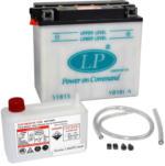 Landport YB18L-A Motorrad Batterie, 12V 18Ah
