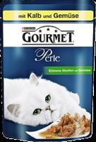 Gourmet Perle Erlesene Streifen mit Kalb & Gemüse 85g
