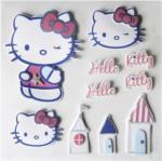 3D-Sticker Hello Kitty