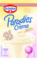 Dr. Oetker Paradies-Creme Weiße Schokolade 70g