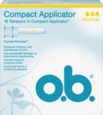 Tampons Compact Applicator normal