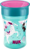 Flasche Magic Cup Pferd Petrol, ab 8 Monate