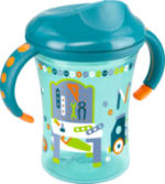 """Flasche Easy Learning Cup Trainer """"Werkbank"""" 250 ml, ab 8 Monate, petrol"""