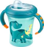 Flasche Starter Cup Dino 200ml, ab 6 Monate, petrol