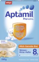Milch-Getreide-Brei Weizen-Hirse-Hafer ab dem 8. Monat