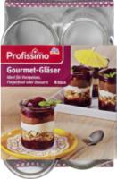 Gourmet-Gläser 6 Gläser à 200 ml