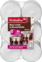 Teelichte Maxi-Lichte in Klarsichthülle
