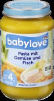 Babymenü Pasta mit Gemüse & Fisch nach dem 4. Monat