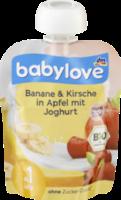 Quetschbeutel Banane & Kirsche in Apfel mit Joghurt ab 1 Jahr