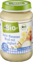 Apfel-Bananen Müsli mit Joghurt ab 10. Monat
