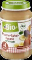Pflaume-Apfel-Banane nach dem 4. Monat