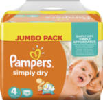 Windeln Simply Dry, Größe 4 Maxi, 7-18 kg, Jumbo Pack