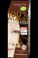 Pflanzen-Haarfarbe Maronenbraun