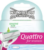 Quattro for Women Sensitive Rasierklingen