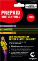 """Prepaid-Starterpaket congstar """"Wunsch-Mix"""""""