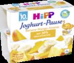 Joghurtbecher Joghurt-Pause Banane-Mango-Ananas ab 10. Monat, 4x100g