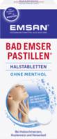 Bad Emser Pastillen Halstabletten ohne Menthol