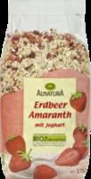Müsli Erdbeer Amaranth mit Joghurt