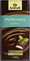Schokolade Pfefferminz Zartbitter