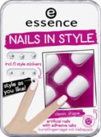Künstliche Fingernägel nails in style the white it-piece 01