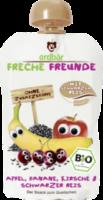 Quetschbeutel Apfel, Banane, Kirsche & Schwarzer Reis ab 1 Jahr