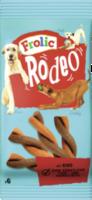 Snack für Hunde, Rodeo mit Rind