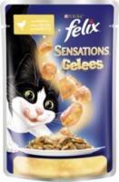 Nassfutter für Katzen, Sensations, Huhn & Karotte in Gelee