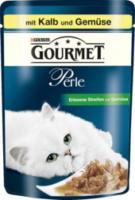 Nassfutter für Katzen, Perle Erlesene Streifen mit Kalb und Gemüse