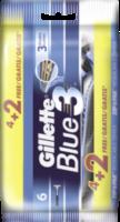 Einwegrasierer Blue3