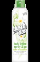 Körperlotion spray & go Gurken- & Seerosenduft