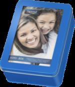 Foto-Box, blau