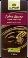 Schokolade Feine Bitter 70% Kakao