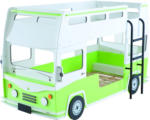 ROLLER Etagenbett Bussy - grün-weiß - 90x200 cm