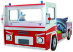 ROLLER Kinderbett SOS 112 - rot-weiß - 90x200 cm
