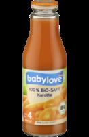 Saft 100 % Bio-Saft Karotte nach dem 4. Monat