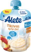 Quetschbeutel Milchreis Apfel-Zimt ab 10. Monat