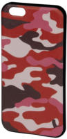 Cover Camouflage iPhone 6 pink/schwarz