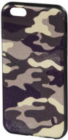 Cover Camouflage iPhone 6 grau/schwarz
