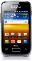Galaxy Y Duos S 6102 Smartphone strong black