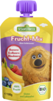 Quetschbeutel Frucht-Mix Banane Erdbeere Blaubeere ab 12. Monat